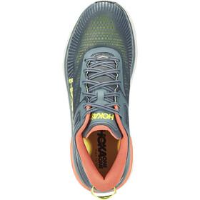 Hoka One One Bondi 7 Shoes Men, turbulence/chili